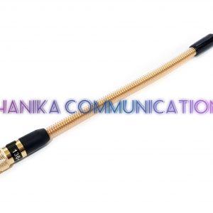 Sky2 Antenna HT VHF SMA Male Yaesu Antena Helikal Kuning Gold Helical